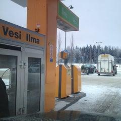 Photo taken at ABC Riihimäki by Nicke on 1/13/2013