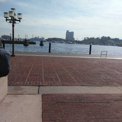 Photo taken at Inner Harbor Paddle Boat Dock by Hetty T. on 10/28/2014