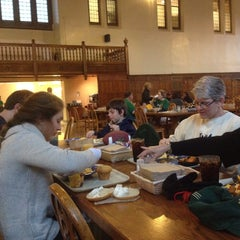 Photo taken at South Dining Hall by Jim K. on 10/19/2013