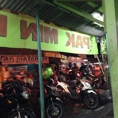 Photo taken at Sop Ayam Pak Min Klaten by Awi W. on 11/3/2012