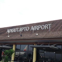 Photo taken at Adisutjipto International Airport (JOG) by Arif B. on 5/24/2013