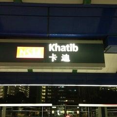 Photo taken at Khatib MRT Station (NS14) by Bonifacio C. on 1/11/2013