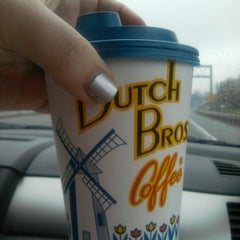 Photo taken at Dutch Bros. Coffee by michelle a. on 12/26/2012