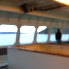 Photo taken at M/V Hyak (Washington State Ferry) by Jonathan A. on 8/12/2013