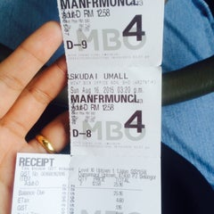 Photo taken at MBO Cinemas by syaf on 8/16/2015