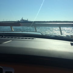 Photo taken at Shelter Island North Ferry - Greenport Terminal by Kristian K. on 9/7/2015