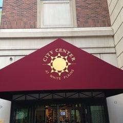 Photo taken at City Center at White Plains by Matthew C. on 6/22/2013