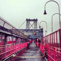 Photo taken at Williamsburg Bridge by Freddy R. on 5/9/2013