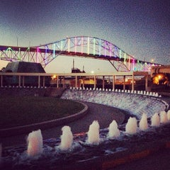 Photo taken at The Watergarden & Pavilion by Freddy R. on 11/25/2012