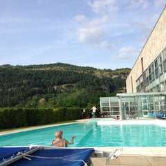 Photo taken at La Reserve Hotel Terme Caramanico Terme by Bronza on 7/7/2014