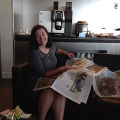 Photo taken at SAA Business Lounge Cape Town by Fanie S. on 4/13/2014