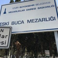 Photo taken at Buca Mezarlik by Ulaş B. on 3/22/2016