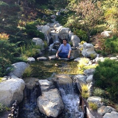 Photo taken at Japanese Friendship Garden by Aryan T. on 10/26/2014