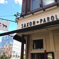 Photo taken at Saxon + Parole by The Corcoran Group on 8/12/2013