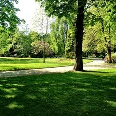 Photo taken at Parc Roger Salengro by Raffaele C. on 4/25/2013