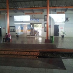 Photo taken at Stasiun Kroya by Aswin H. on 10/21/2012