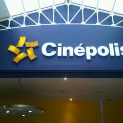 Photo taken at Cinépolis by Sara S. on 5/25/2013
