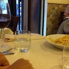 Photo taken at Trattoria Cecio by Daniele U. on 8/24/2013