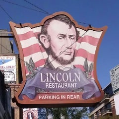 Photo taken at Lincoln Restaurant by Luke L. on 9/29/2012