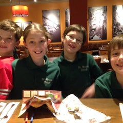Photo taken at Bertucci's by Erin B. on 3/28/2014