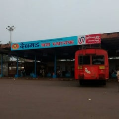 Photo taken at Devgad S.T. Bus Stand by A K. on 9/28/2014