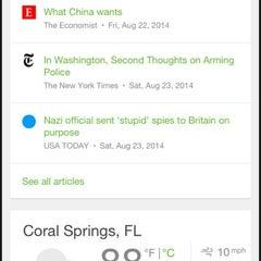 Photo taken at Coral Springs, FL by rocío aracelis ú. on 9/8/2014