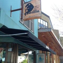 Photo taken at Guerilla Cafe by Chona G. on 9/14/2013