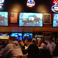 Photo taken at Buffalo Wild Wings by Geoff P. on 1/12/2013