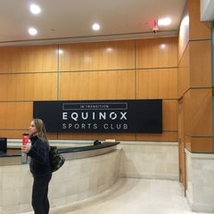 Photo taken at Equinox Sports Club Upper East Side by Yang S. on 1/16/2016