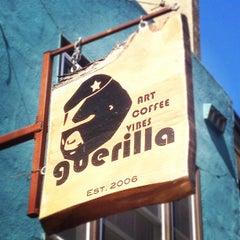 Photo taken at Guerilla Cafe by Sumaya on 9/24/2012