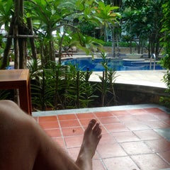 Photo taken at The Tubkaak Boutique Resort Krabi by Wim V. on 2/29/2016