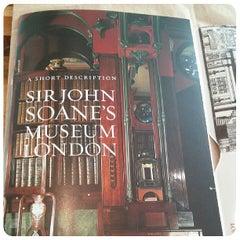 Photo taken at Sir John Soane's Museum by Purgatoire on 5/16/2013