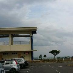 Photo taken at Kompleks Sukan Ranau by Sabil N. on 7/30/2014