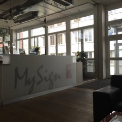 Photo taken at MySign AG by Aldo G. on 5/6/2015