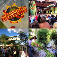 Photo taken at Chessington World of Adventures Resort by Mohammad on 8/11/2013