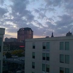 Photo taken at Aloft Milwaukee Downtown by Rand F. on 10/4/2012