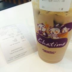 Photo taken at Chatime by izzatie s. on 9/1/2015