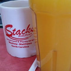 Photo taken at Stacks Kitchen by GiovanniCLT on 5/11/2015