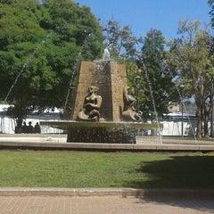 Photo taken at Plaza de Armas by Cristian C. on 1/28/2013