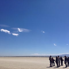 Photo taken at El Mirage Dry Lake by Theodore R. on 3/31/2014