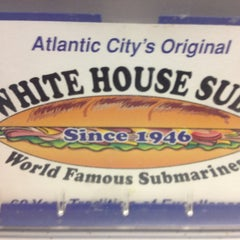 Photo taken at White House Sub Shop by Keith G. on 7/2/2013