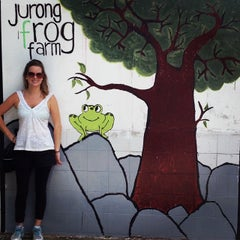 Photo taken at Jurong Frog Farm by Julie C. on 10/20/2013