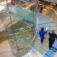 Photo taken at Apple Store, Boylston Street by LJ M. on 5/9/2013