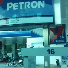 Photo taken at Petron by Tan T. on 7/6/2014