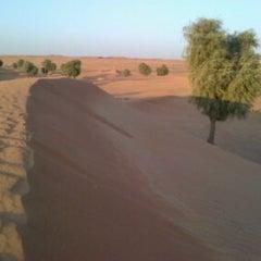 Photo taken at منتجع بنيان الصحراوي by Ali A. on 11/3/2012