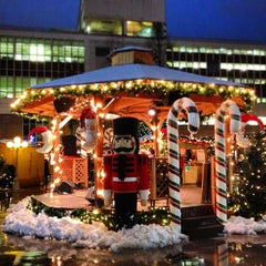 Photo taken at Vancouver Christmas Market by Marcus A. on 12/24/2012