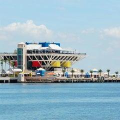 Photo taken at St. Petersburg Pier by Liz M. on 11/6/2012
