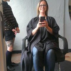 Photo taken at Hair Drezzers on Fire by Niki E. on 6/8/2013