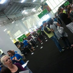 Photo taken at 2012 Bike Expo New York by Traci on 5/5/2012