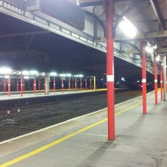 Photo taken at Stockport Railway Station (SPT) by Mohammed E. on 11/11/2012